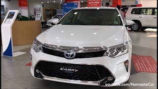 Toyota Camry Hybrid XV50 2017   Real-life review