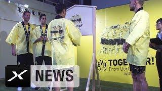 BVB verlässt Japan: Peter Bosz, Marcel Schmelzer und Co. sagen danke | Borussia Dortmund