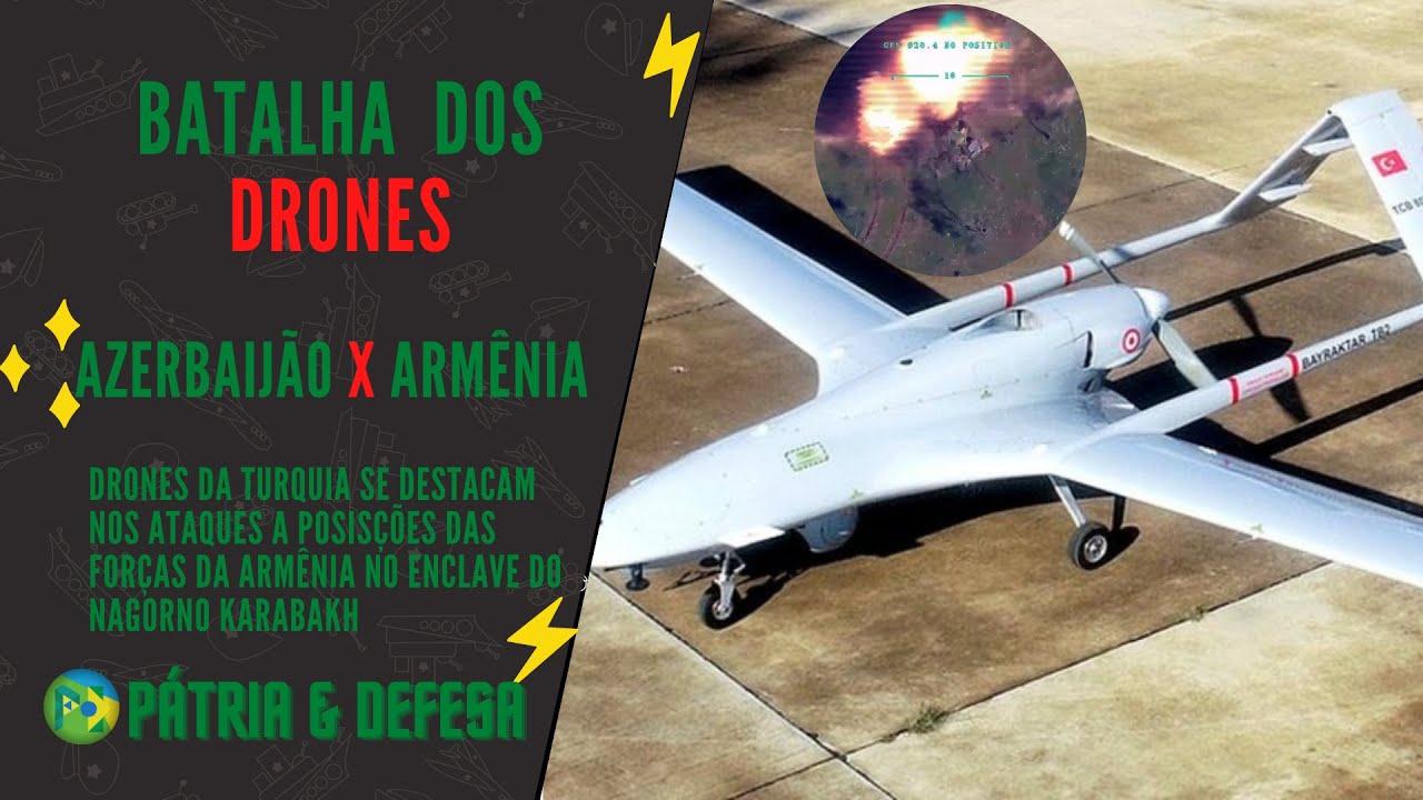 Drones Fazem A Diferença nas Batalhas Modernas - Veja o Efeito Devastador Destes Equipamentos.