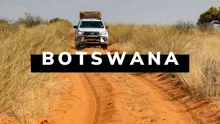 BOTSWANA TRAVEL DOCUMENTARY - 4x4 Safari Road Trip feat. Victoria Falls