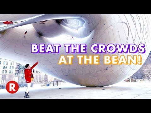 Beat The Crowds at Millennium Park // See The Bean ALONE // Chicago, IL