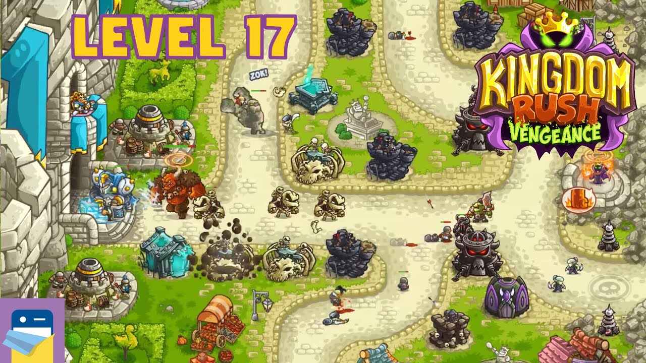 Kingdom Rush Vengeance: Level 17 Denas's Castle 3-Star Walkthrough &  Gameplay (by Ironhide)