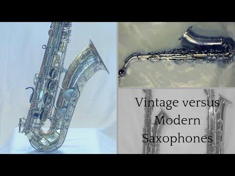 Modern vs. Vintage Saxophones