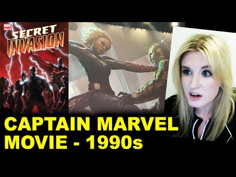 Captain Marvel Movie – 1990s, Skrulls, Nick Fury, Secret Invasion?!