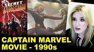 Captain Marvel Movie - 1990s, Skrulls, Nick Fury, Secret Invasion?!