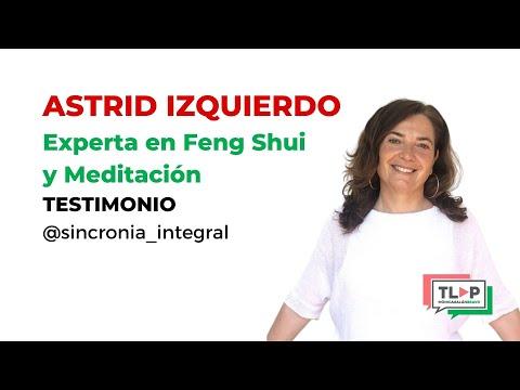 """Programa de mentoría """"Traspasa La Pantalla"""". Astrid Izquierdo, Experta en Feng Shui y meditación."""