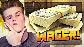 CSGO WAGER MATCH (WITH REAL MONEY!) | CSGO Competitive w/The Pack