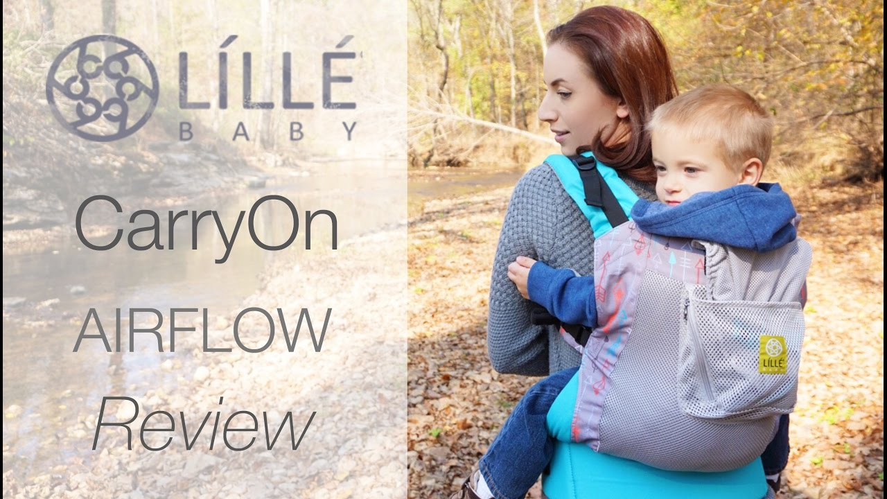 fc5655560d7 NEW LILLEbaby CarryOn Airflow BEST Toddler Carrier Review! Cupid s Arrow -  YouTube