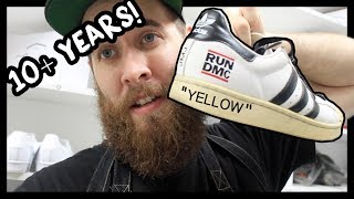 TAKING THE YELLOW OUT OF 10+ YEAR OLD SNEAKERS!