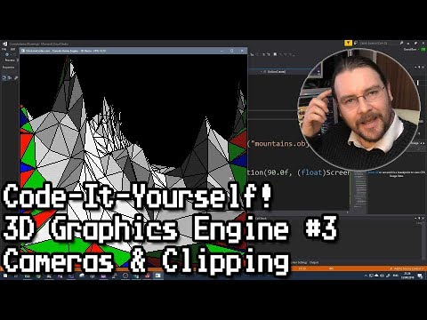 Code-It-Yourself! 3D Graphics Engine Part #3 - Cameras & Clipping