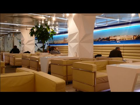 Aeroflot Business Lounge / St Petersburg Pulkovo Airport