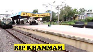 WAP7 Chennai Duronto Thrashes DEMU Khammam