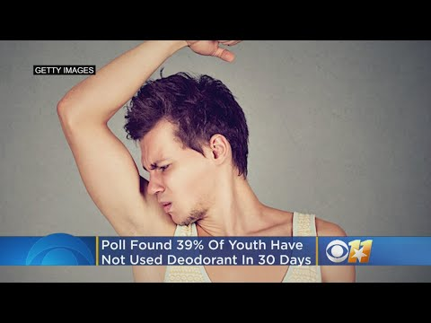 Adam Rivers - POLL: 40% of 18-24 year olds... don't wear deodorant??????????