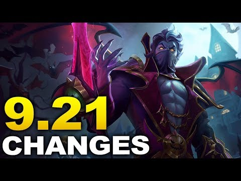All Patch 9.21 Changes And Meta Shifts For End Of Season