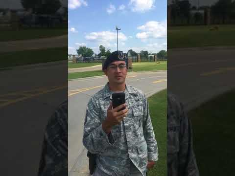 First amendment audit, OK Air National Guard, Tulsa, OK. Sur