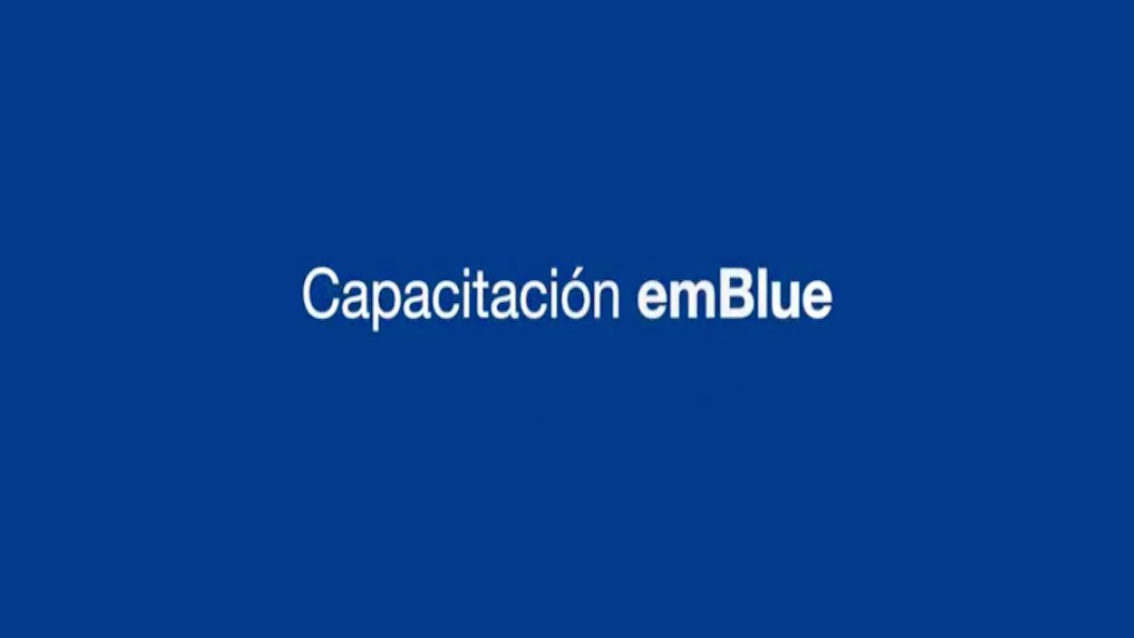 Tu primer campaña de Email Marketing en emBlue