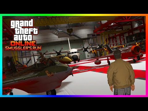 GTA ONLINE $100,000,000 SMUGGLER'S RUN SPENDING SPREE – BUYING ALL NEW VEHICLES, AIRCRAFTS & MORE!
