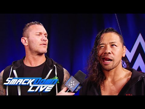 Randy Orton and Shinsuke Nakamura enter the 2018 Royal Rumble Match: SmackDown LIVE, Dec. 26, 2017