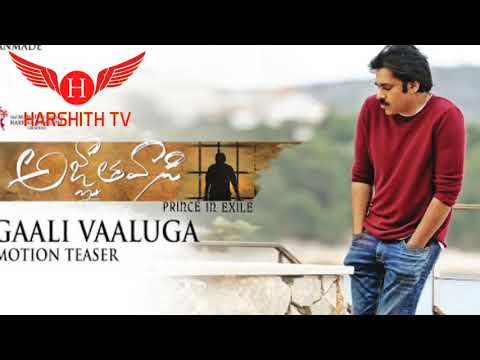 Hdvidz in Gaali vaaluga song  pspk25  agnyathavasi songs
