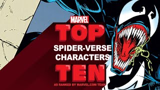 Top 10 Spider-Verse Characters | Marvel Top 10