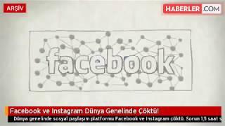 Facebook ve Instagram Dünya Genelinde Çöktü!