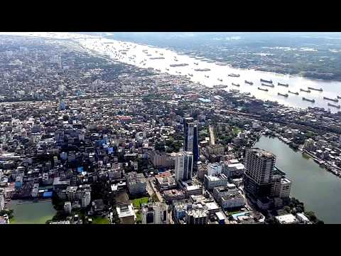 Chittagong City sky view 2
