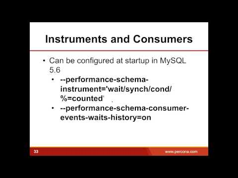 Using Performance Schema to Monitor and Troubleshoot MySQL 5 6