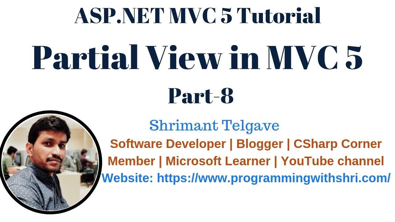 13) inline html helpers in mvc 5   mvc 5 tutorial for beginners in.