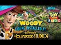 WOODY Figure Installed at TOY STORY LAND In Walt Disney World - Disney News - 4/24/18
