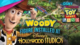 WOODY Figure Installed at TOY STORY LAND In Walt Disney World - Disney News - 42418