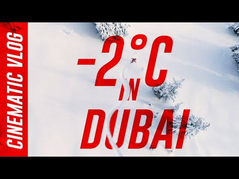 -2°C Freezing Cold in Dubai | Ski Dubai Vlog 2021