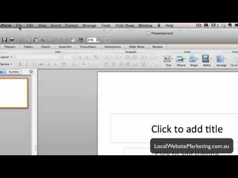 How to change 169 aspect ratio in powerpoint 2011 for mac youtube how to change 169 aspect ratio in powerpoint 2011 for mac toneelgroepblik Choice Image