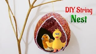 DIY Room Decor : Beautiful Balloon Craft Nest  for Home Decoration & Garden | Kids DIY Projects