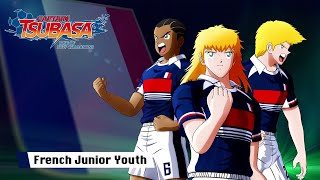 Captain Tsubasa Rise of New Champions French Junior Youth Trailer PS4 PC SWITCH