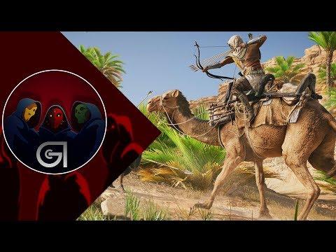 Assassin's Creed Origins Arena Mode Gameplay + Boss Fight 4K 60fps (E3 2017)