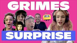 Grimes Surprises Fans in Discord VC