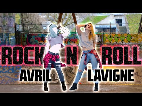 Just Dance ROCK N ROLL Avril Lavigne ★ Cosplay gameplay