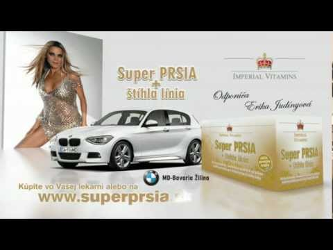 Super PRSIA + štíhla línia - TV spot