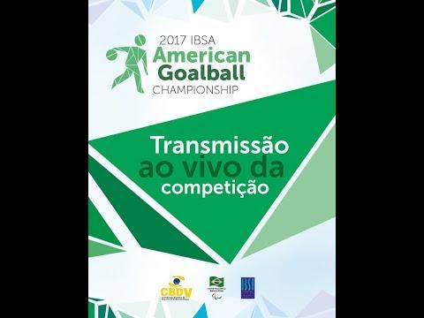 2017 IBSA Goalball American Championships- day 2