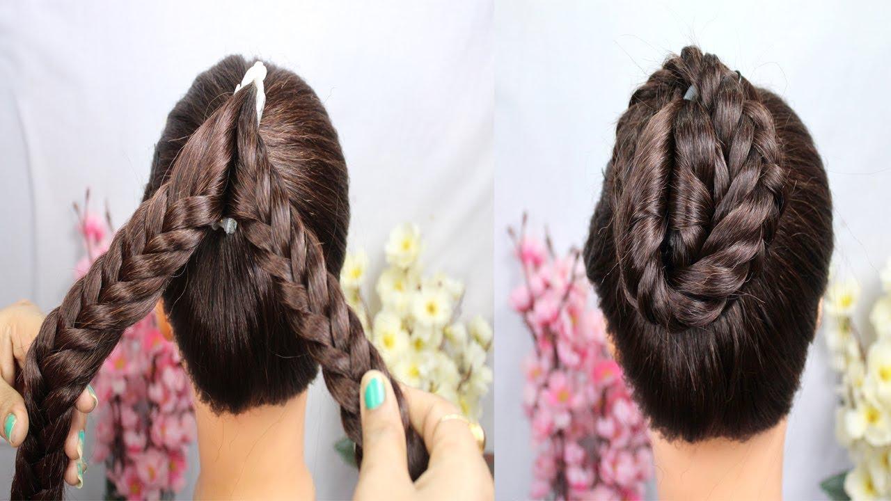 Easy Juda Hairstyle With Using Banana Clutcher  hair style girl   hairstyle  clutcher hairstyles