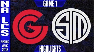 Video CG vs TSM Highlights   NA LCS Week 5 Spring 2018 W5D2   Clutch Gaming vs Team Solomid highlights download MP3, 3GP, MP4, WEBM, AVI, FLV Juni 2018