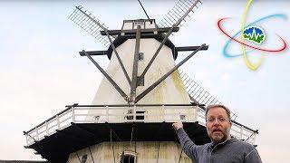 Exploring an 1859 Danish Windmill