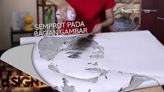Dsign - Handcraft - Lukisan koran