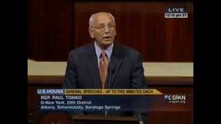 Tonko calls for sequester rollback on first day back in session