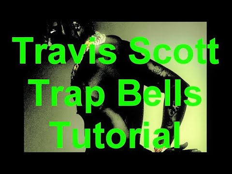 Travis Scott Type bell Melody beat - trap beat Tips and Tricks (Fl Studio VST Effect Tutorial)