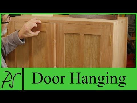 Door Hanging | Paul Sellers