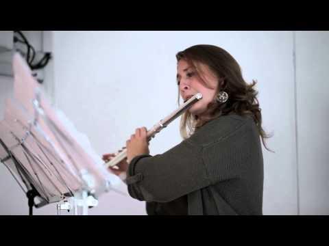 "Goodman Quartet  - Simon Holt (flute solo) ""Maiastra"""