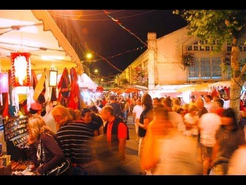Biarritz - Le marché nocturne