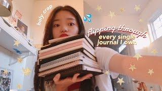 A FLIP THROUGH OF EVERY SINGLE JOURNAL I OWN