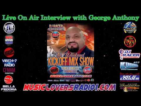 DJ RACER INTERVIEW WITH GEORGE ANTHONY - 01/10/2020